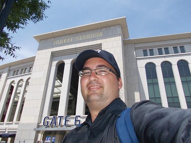 """La nueva versión de la """"Casa que Babe construyó"""" todavía no tiene una larga historia, pero sin dudas es un sitio impresionante. En el Yankee Stadium, en Nueva York"""