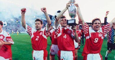 Dinamarca fue la sorpresiva campeona de la Euro 1992