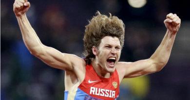 El ruso Ivan Ukhov amenazó el récord de Sotomayor.