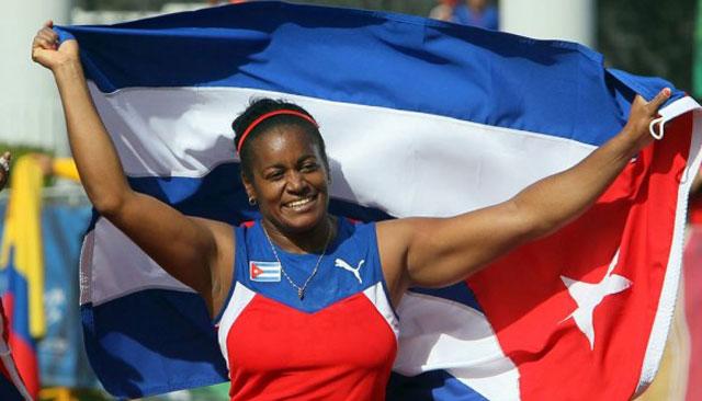 Yipsi Moreno es una de las mejores atletas de Cuba de todos los tiempos.