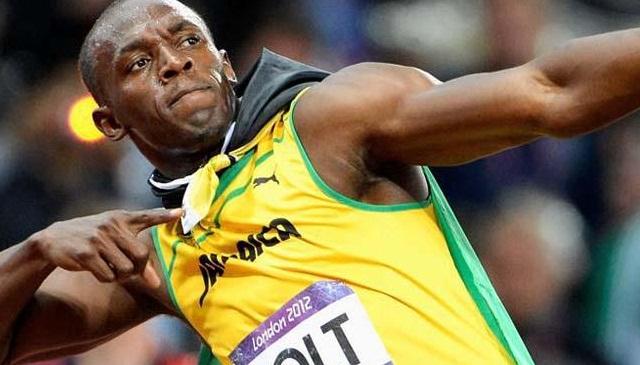 El relámpago Usain Bolt
