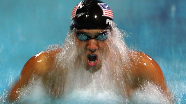 Michael Phelps competirá en su quinta cita estival. Foto: Emaze.