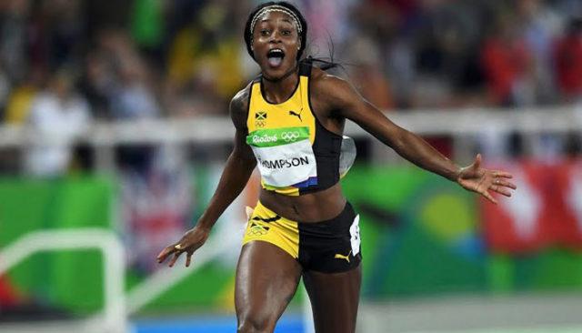 Elaine Thompson, de 24 años, fue la reina de la velocidad en el atletismo. Foto: Getty.