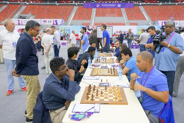 El equipo cubano perdió ante la India y Canadá. Foto: Sitio oficial de la Olimpiada.