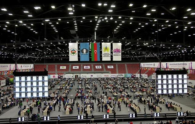 Sala de juego de la Olimpiada.