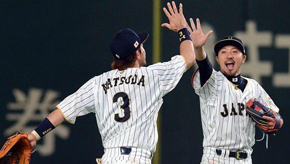 Japón superó a Cuba,11 por 6. Foto: Ricardo López Hevia.