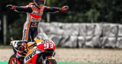 Marc Márquez lidera el Mundial de MotoGP