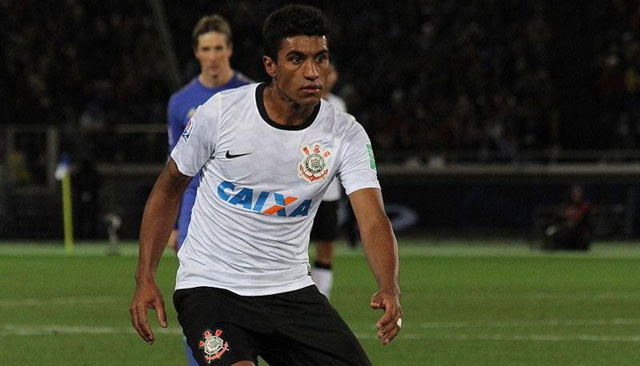 Paulinho refuerza al Barcelona. Foto de Christopher Johnson