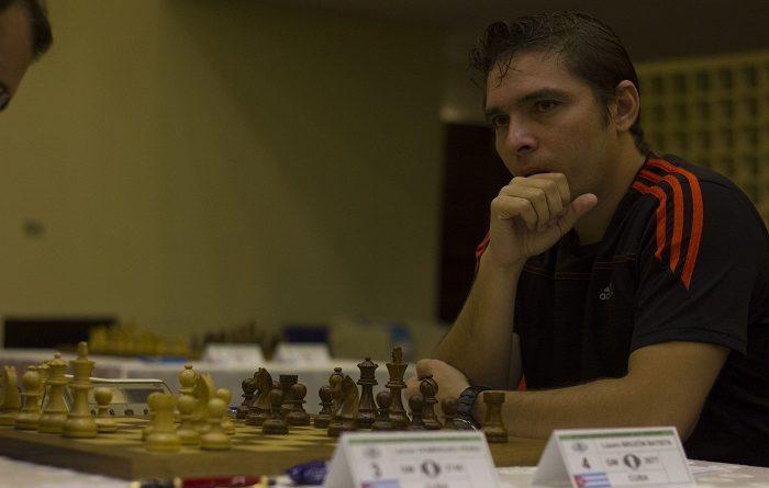 Bruzón abrió con victoria el match ante David Antón