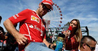 Vettel todavía cree en la remontada, pero con 59 puntos de desventaja, esta parece muy difícil