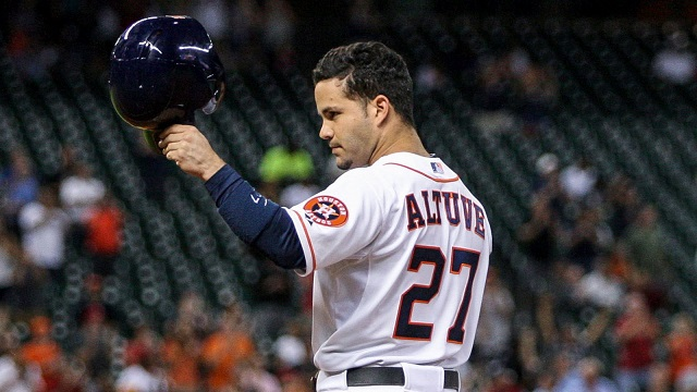 José Altuve fue el MVP de la Liga Americana en 2017 y pieza clave en el triunfo de los Astros de Houston en la Serie Mundial