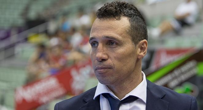 Gustavo Gustossi, técnico del club ElPozo Murcia