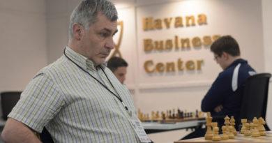 El GM Ivanchuk es el máximo ganador de títulos del Memorial Capablanca. Foto: Abel Rojas / Mi Columna Deportiva