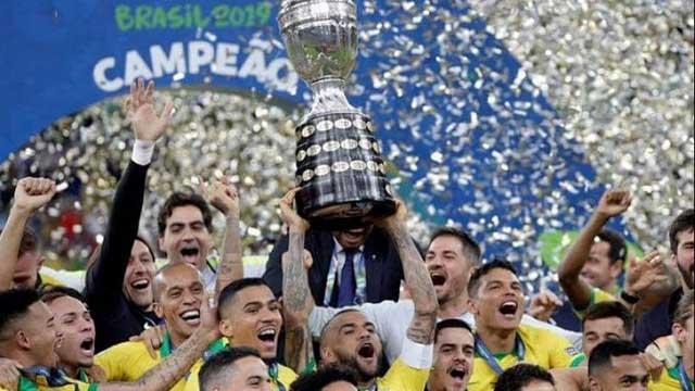 Brasil ganó por novena ocasión la Copa América