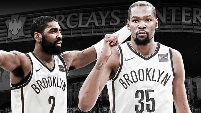 Kevin Durant y Kyrie Irving, dos nuevos fichajes de los Nets de Brooklyn