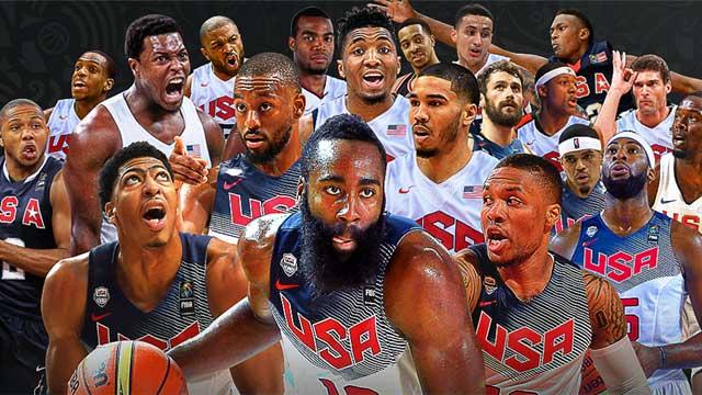 El Dream Team de Estados Unidos es el favorito para ganar el Campeonato mundial de baloncesto en China