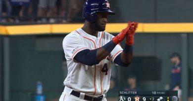 Yordan Álvarez ha causado sensación en su primer año en Grandes Ligas. Foto: sitio oficial de MLB