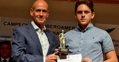 Carlos Daniel Albornoz Cabrera, subcampeón Ibéroamericano | Foto: FEDA.org