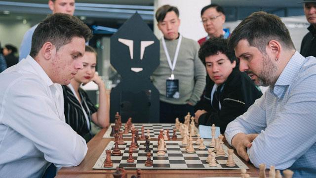 Albornoz perdió el match ante Peter Svidler en la Copa Mundial de ajedrez