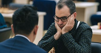 El GM Leinier Domínguez celebra su cumpleaños 36. Terminó entre los 16 mejores en la Copa Mundial de ajedrez