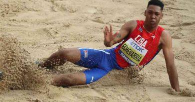 El saltador de longitud Juan Miguel Echevarría logró la medalla de bronce en el Mundial de atletismo Doha 2019
