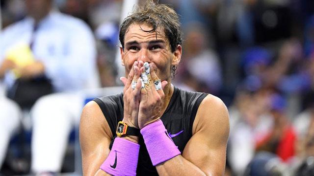Rafael Nadal ganó su 19no título de Grand Slam...y obtuvo 4 millones de dólares como premio