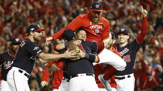 Nacionales de Washington ganaron su primer título de Serie Mundial