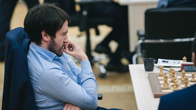 Teimour Radjabov ganó la Copa Mundial de ajedrez. Foto tomada del sitio oficial del evento
