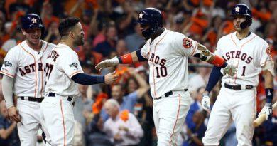 El único jonrón de Yuli Gurriel en la postemporada 2019 fue un batazo histórico, porque le dio una gran ventaja a los Astros de Houston