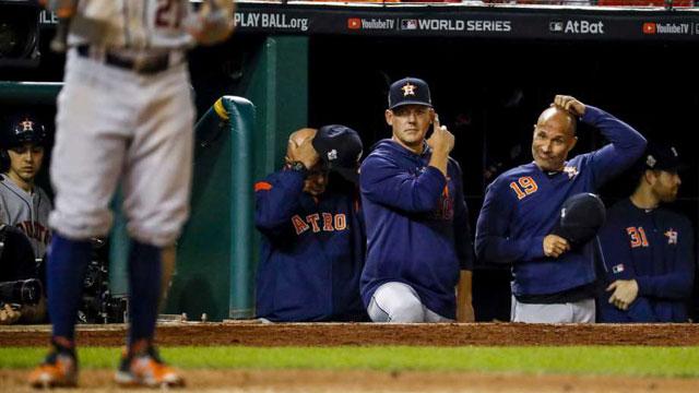 ¿Benefició a los Astros el robo de señas? Si nos guiamos por las estadísticas, pues no tanto