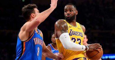 LeBron James es el líder de los Lakers de Los Ángeles