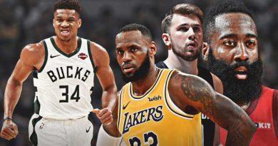 Cinco jugadores parecen los más serios candidatos al MVP 2020 de la NBA