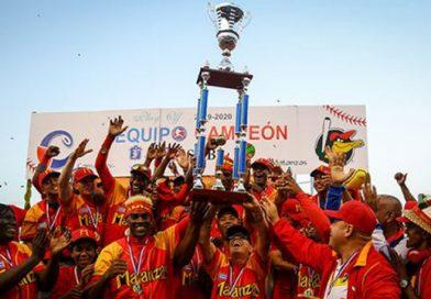 Matanzas logró su primer título de campeón de la Serie Nacional de Cuba, 29 años después de que Henequeros lograra la úlima corona para esa provincia