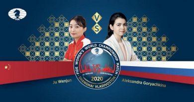 La china Ju Wenjun defenderá su corona mundial de ajedrez en un match de 12 partidas contra su retadora, la rusa Aleksandra Goryachkina
