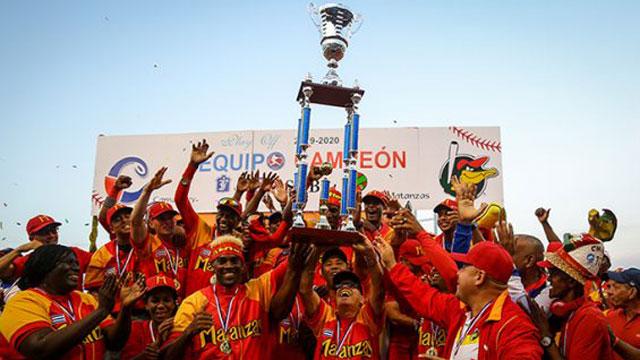 Matanzas ganó el título nacional de béisbol, 29 años después de su última corona