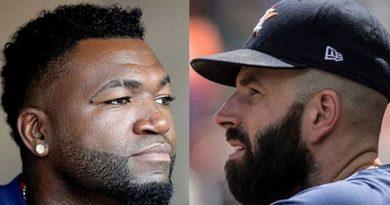 """David Ortiz llamó """"soplón"""" a Fiers por revelar el escándalo del robo de señas en los Astros de Houston"""