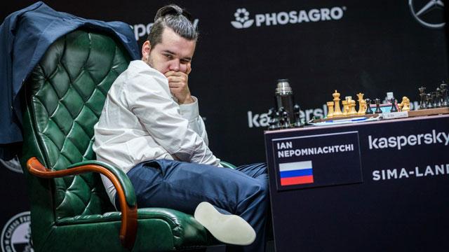 Ian Nepomniachtchi logró su segunda victoria consecutiva y amplió su ventaja en la tabla de posiciones del Torneo de Candidatos 2020