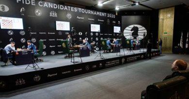 Cancelado el Torneo de Candidatos 2020: el coronavirus da jaque mate