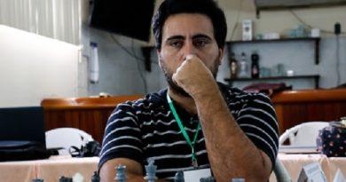 Yusnel Bacallao venció a Yuniesky Quesada y avanzó a la semifinal de la Copa Cuba de ajedrez online