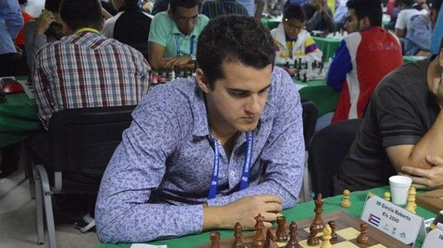 El GM Roberto García Pantoja fue el de mejor desempeño en el Torneo nacional por equipos de ajedrez online. Foto tomada de su perfil personal en Facebook