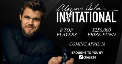 Magnus Carlsen reunió los fondos suficientes para lanzar el torneo de ajedrez online con la mayor bolsa de premios de la historia: ocho jugadores, incluido por supuesto el noruego, se repartirán 250 mil dólares