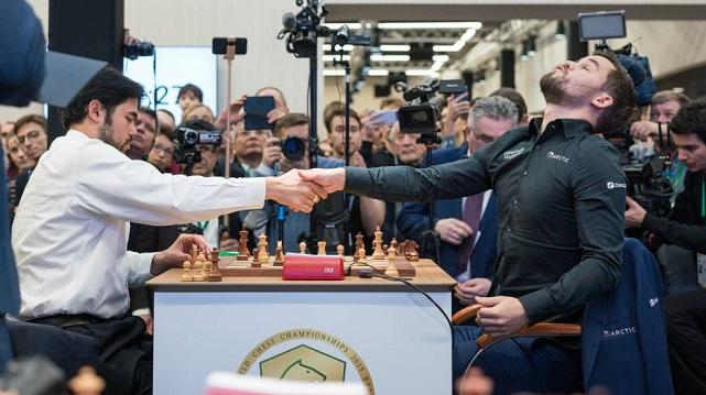 El nuevo capítulo de la rivalidad entre Hikaru Nakamura y Magnus Carlsen lo tuvimos en el match semifinal del Lindores Abbey Rapid Challenge