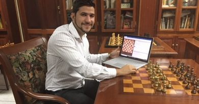 El GM Yasser Quesada es uno de los ajedrecistas cubanos que avanzó a la segunda fase del torneo Iberoamericano online