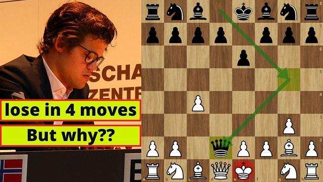 Magnus Carlsen es dueño de no pocos récords en el ajedrez. A su larga lista acaba de añadir otro: es el campeón mundial que más rápido ha perdido una partida