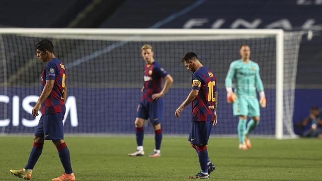 El Barcelona fue humillado por el Bayern de Múnich en la Liga de Campeones