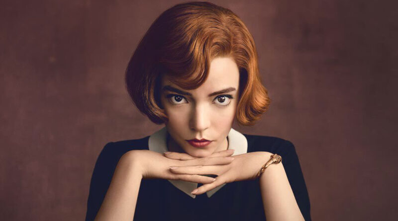 """La serie de Netflix """"Gambito de Dama"""" se ha convertido en un fenómeno global."""