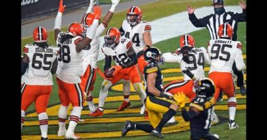 Los Browns protagonizaron la gran sorpresa del fin de semana de comodines en los NFL playoffs.