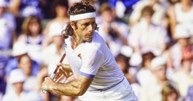 El argentino Guillermo Vilas llegó a ser considerado el número uno del mundo y en su brillante carrera logró 62 títulos individuales.