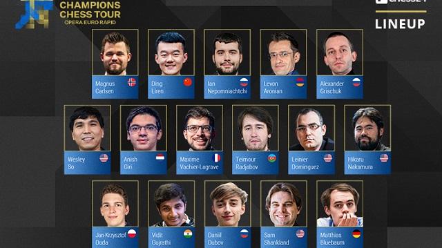 El Gran Maestro Leinier Domínguez comenzará su calendario competitivo de 2021 en la tercera parada del Meltwater Champions Chess Tour