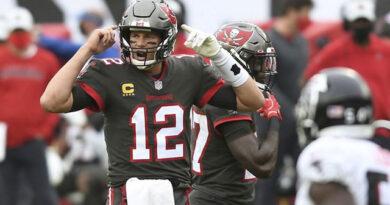Tom Brady tuvo una gran temporada y llevó a los Bucaneros de regreso a los NFL playoff